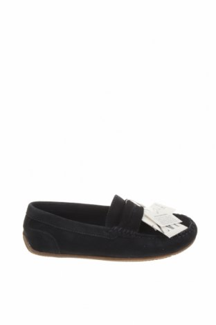 Детски обувки Zara, Размер 35, Цвят Син, Естествен велур, Цена 59,25лв.