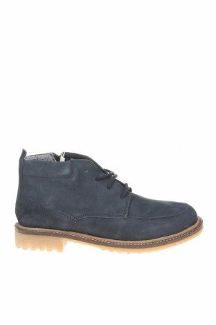 Dětské boty  Zara, Velikost 36, Barva Modrá, Přírodní velur , Cena  550,00Kč