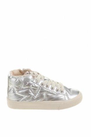 Dětské boty  Zara, Velikost 27, Barva Stříbrná, Eko kůže, Cena  470,00Kč
