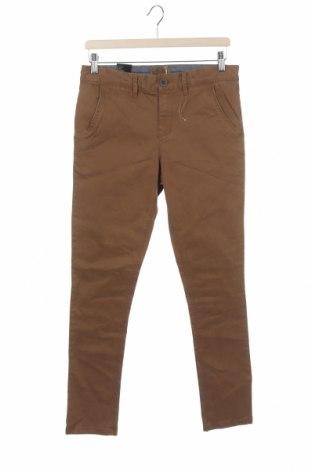 Dziecięce spodnie Here+There, Rozmiar 13-14y/ 164-168 cm, Kolor Brązowy, 98% bawełna, 2% elastyna, Cena 46,80zł