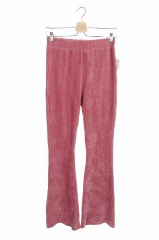 Детски панталон KappAhl, Размер 14-15y/ 168-170 см, Цвят Розов, 55% памук, 42% полиестер, 3% еластан, Цена 6,83лв.