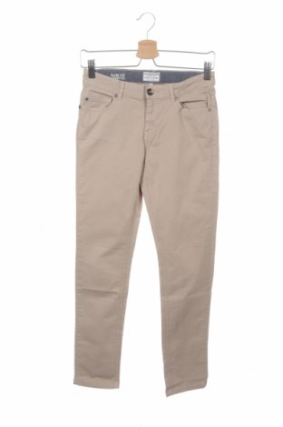 Παιδικό παντελόνι Review, Μέγεθος 12-13y/ 158-164 εκ., Χρώμα  Μπέζ, 98% βαμβάκι, 2% ελαστάνη, Τιμή 7,43€