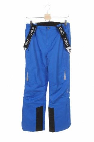 Pantaloni pentru copii pentru sporturi de iarnă CMP, Mărime 12-13y/ 158-164 cm, Culoare Albastru, Poliester, Preț 129,32 Lei