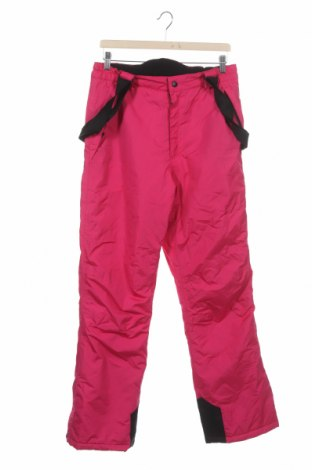 Pantaloni pentru copii pentru sporturi de iarnă Crane, Mărime 15-18y/ 170-176 cm, Culoare Roz, Poliester, Preț 225,47 Lei