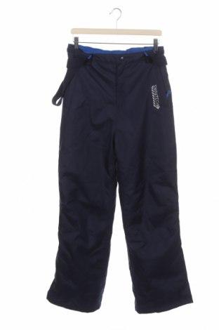 Dětské kalhoty pro zimní sporty  Y.F.K., Velikost 15-18y/ 170-176 cm, Barva Modrá, Polyester, Cena  622,00Kč