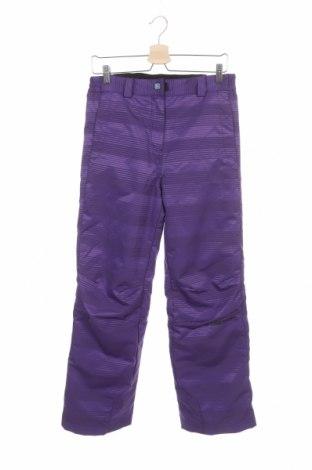 Dětské kalhoty pro zimní sporty  Ziener, Velikost 15-18y/ 170-176 cm, Barva Fialová, Polyester, Cena  510,00Kč