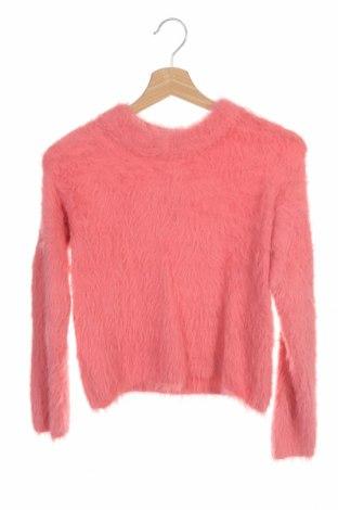 Pulover pentru copii H&M, Mărime 12-13y/ 158-164 cm, Culoare Roz, Poliamidă, Preț 14,09 Lei