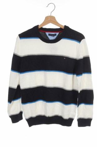 Dětský svetr  Tommy Hilfiger, Velikost 15-18y/ 170-176 cm, Barva Modrá, Bavlna, Cena  988,00Kč