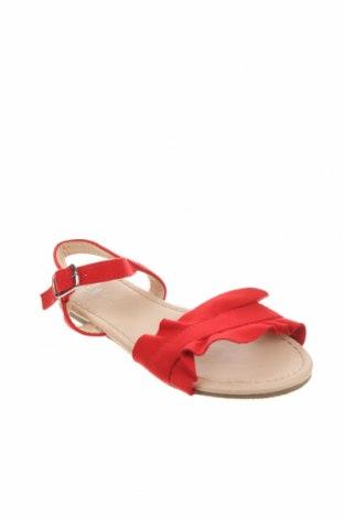 Детски сандали Lefties, Размер 26, Цвят Червен, Текстил, Цена 19,50лв.