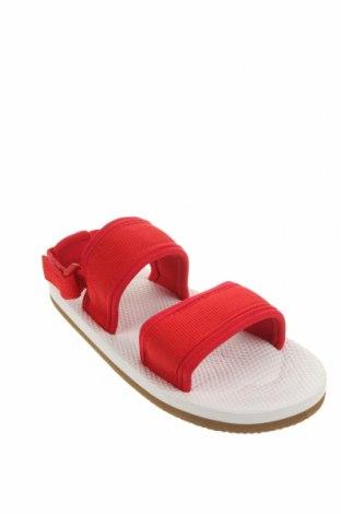 Детски сандали Lefties, Размер 34, Цвят Червен, Текстил, Цена 19,50лв.