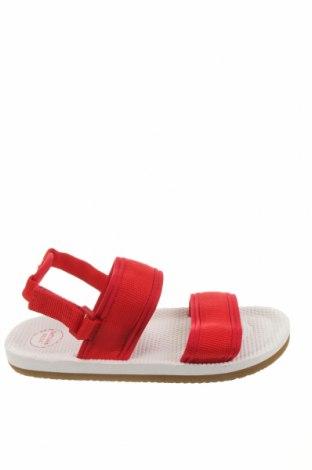 Детски сандали Lefties, Размер 32, Цвят Червен, Текстил, Цена 19,50лв.