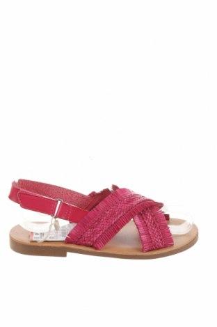 Sandale pentru copii Zara, Mărime 31, Culoare Roz, Piele ecologică, Preț 69,08 Lei