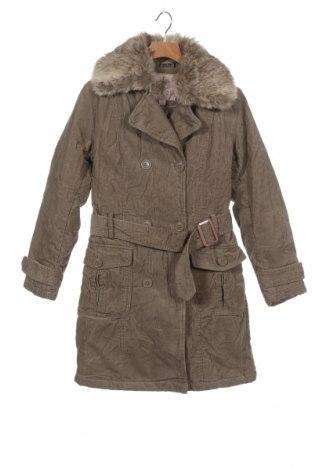Dětský přechodný kabát  Manguun, Velikost 9-10y/ 140-146 cm, Barva Hnědá, Bavlna, Cena  701,00Kč