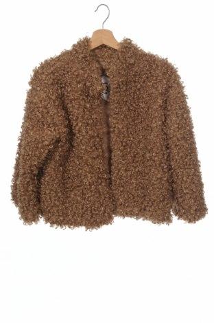 Dětský kabát , Velikost 12-13y/ 158-164 cm, Barva Hnědá, Polyester, Cena  701,00Kč