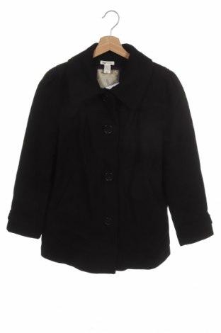 Dětský kabát  H&M, Velikost 15-18y/ 170-176 cm, Barva Černá, 60% vlna, 35% viskóza, 5% polyamide, Cena  829,00Kč