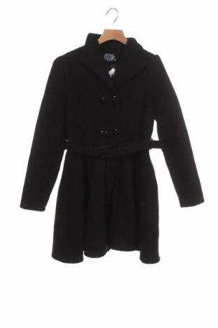 Dětský kabát  Hearts & Roses, Velikost 11-12y/ 152-158 cm, Barva Černá, 90% polyester, 8% viskóza, 2% elastan, Cena  717,00Kč