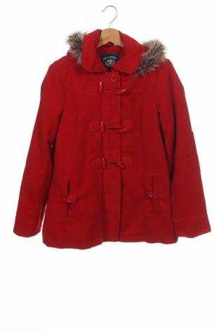 Dětský kabát  Here+There, Velikost 14-15y/ 168-170 cm, Barva Červená, 95% polyester, 5% viskóza, Cena  765,00Kč