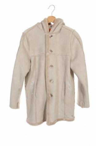 Dětský kabát  One By One, Velikost 13-14y/ 164-168 cm, Barva Béžová, Polyacryl, Cena  861,00Kč