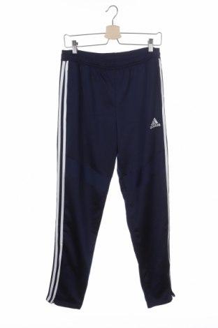 Dětské tepláky Adidas, Velikost 15-18y/ 170-176 cm, Barva Modrá, Polyester, Cena  399,00Kč