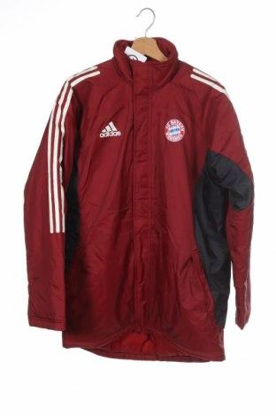 Dětská bunda  Adidas, Velikost 15-18y/ 170-176 cm, Barva Červená, Polyamide, Cena  606,00Kč