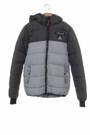 Dětská bunda  H&M, Velikost 13-14y/ 164-168 cm, Barva Šedá, 73% polyamide, 27% polyester, Cena  733,00Kč