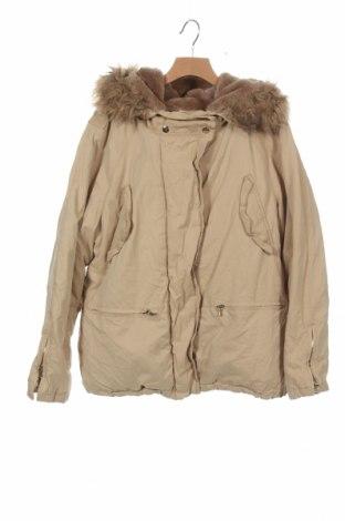 Dětská bunda  Zara, Velikost 13-14y/ 164-168 cm, Barva Béžová, 51% polyester, 38% bavlna, 11% polyamide, Cena  622,00Kč