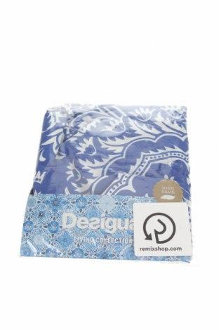 Διακοσμητική μαξιλαροθήκη Desigual, Χρώμα Μπλέ, Βαμβάκι, Τιμή 15,16€