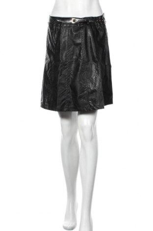 Kožená sukně  Rinascimento, Velikost L, Barva Černá, Eko kůže, Cena  468,00Kč