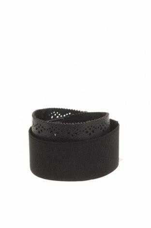 Ζώνη Reserved, Χρώμα Μαύρο, Δερματίνη, κλωστοϋφαντουργικά προϊόντα, Τιμή 9,65€