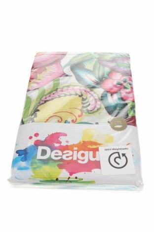 Set lenjerie de pat Desigual, Culoare Multicolor, Bumbac, Preț 389,14 Lei