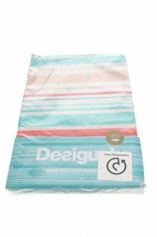 Set lenjerie de pat Desigual, Culoare Multicolor, Bumbac, Preț 227,96 Lei