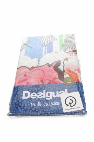 Set lenjerie de pat Desigual, Culoare Multicolor, Bumbac, Preț 435,20 Lei