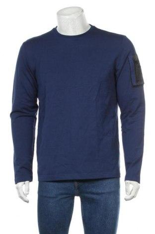 Мъжка блуза S.Oliver, Размер L, Цвят Син, 95% памук, 5% еластан, Цена 28,32лв.