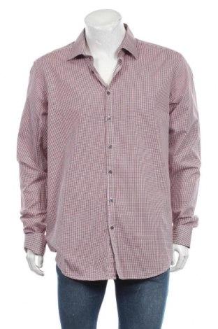 Мъжка риза Angelo Litrico, Размер XL, Цвят Червен, Памук, Цена 4,73лв.