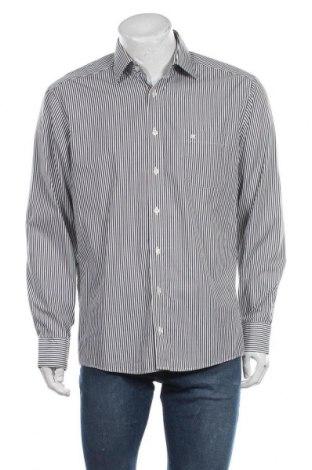 Ανδρικό πουκάμισο Casa Moda, Μέγεθος L, Χρώμα Γκρί, Βαμβάκι, Τιμή 6,43€