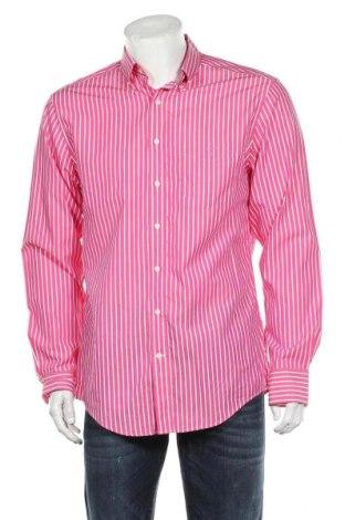 Мъжка риза Gant, Размер L, Цвят Розов, Памук, Цена 31,50лв.