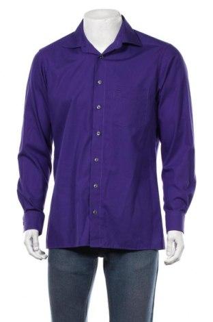 Мъжка риза Olymp, Размер M, Цвят Лилав, Памук, Цена 17,96лв.