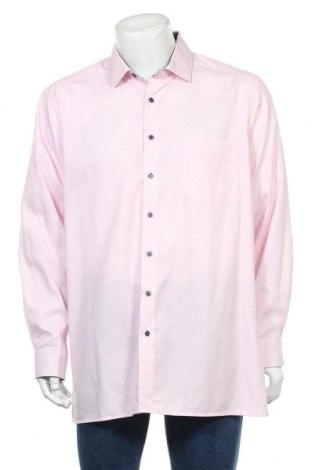 Мъжка риза Olymp, Размер XXL, Цвят Розов, Памук, Цена 12,29лв.