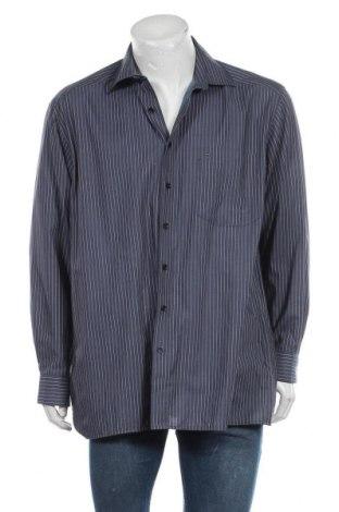Мъжка риза Olymp, Размер XL, Цвят Син, Памук, Цена 11,97лв.