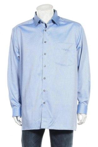 Мъжка риза Olymp, Размер XL, Цвят Син, Памук, Цена 24,15лв.