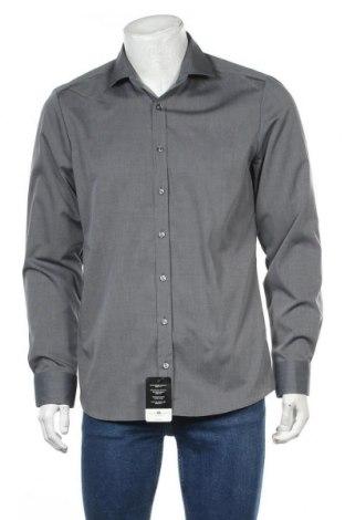 Мъжка риза Royal Class, Размер L, Цвят Сив, Памук, Цена 21,32лв.