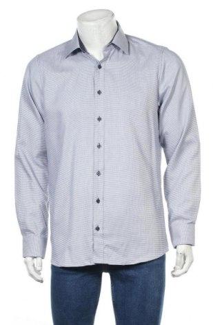 Мъжка риза Royal Class, Размер L, Цвят Син, Памук, Цена 19,95лв.