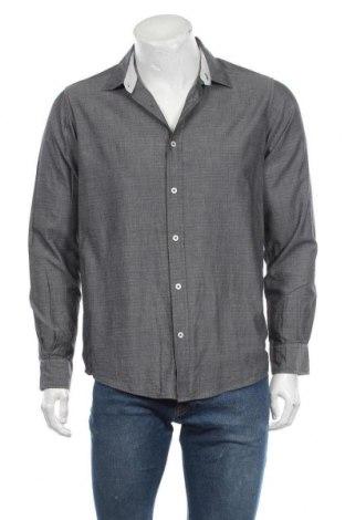 Мъжка риза Royal Class, Размер M, Цвят Сив, Памук, Цена 17,96лв.