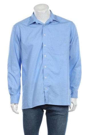 Мъжка риза Royal Class, Размер M, Цвят Син, Памук, Цена 12,29лв.