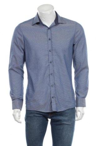 Мъжка риза Royal Class, Размер M, Цвят Син, Памук, Цена 17,06лв.