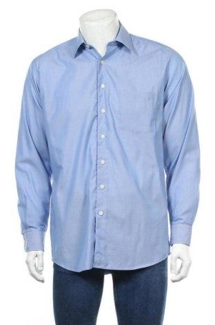 Ανδρικό πουκάμισο Sevensigns, Μέγεθος M, Χρώμα Μπλέ, Τιμή 4,09€