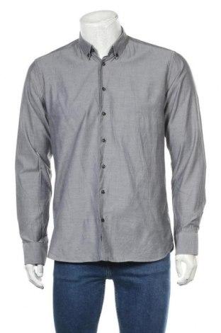 Мъжка риза Strenesse, Размер L, Цвят Син, Памук, Цена 35,25лв.