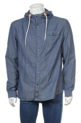 Мъжка риза Your Turn, Размер L, Цвят Син, Памук, Цена 22,05лв.