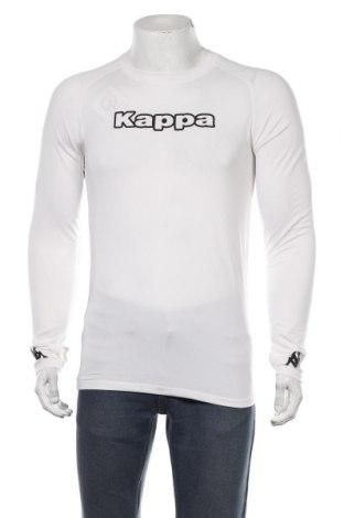 Мъжка спортна блуза Kappa, Размер S, Цвят Бял, 95% полиестер, 5% еластан, Цена 18,90лв.