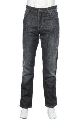 Pánské džíny  Wrangler, Velikost M, Barva Modrá, 98% bavlna, 2% elastan, Cena  446,00Kč